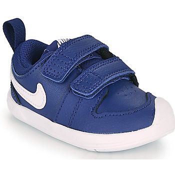 kengät Pojat Matalavartiset tennarit Nike PICO 5 TD Blue / White