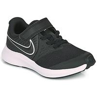 kengät Lapset Urheilukengät Nike STAR RUNNER 2 PS Black / White