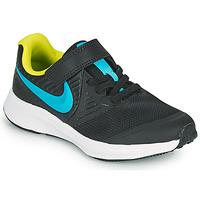 kengät Pojat Urheilukengät Nike STAR RUNNER 2 PS Musta / Sininen