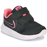 kengät Tytöt Urheilukengät Nike STAR RUNNER 2 TD Black / Pink