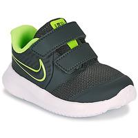 kengät Pojat Urheilukengät Nike STAR RUNNER 2 TD Musta / Vihreä