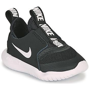 kengät Lapset Urheilukengät Nike FLEX RUNNER TD Black / White