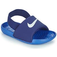 kengät Pojat Rantasandaalit Nike NIKE KAWA TD Sininen