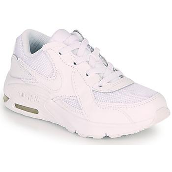 kengät Lapset Matalavartiset tennarit Nike AIR MAX EXCEE PS White