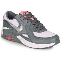 kengät Tytöt Matalavartiset tennarit Nike AIR MAX EXCEE GS Grey / Pink