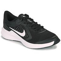 kengät Lapset Urheilukengät Nike DOWNSHIFTER 10 GS Black / White