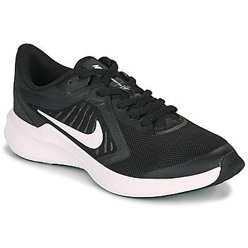 kengät Lapset Urheilukengät Nike DOWNSHIFTER 10 GS Musta / Valkoinen