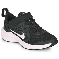 kengät Lapset Urheilukengät Nike DOWNSHIFTER 10 PS Musta / Valkoinen