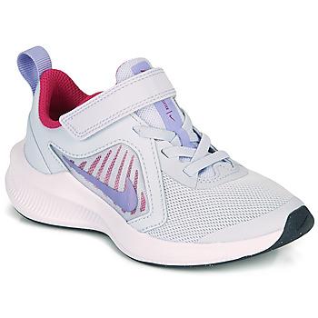 kengät Tytöt Urheilukengät Nike DOWNSHIFTER 10 PS Sininen / Violetti