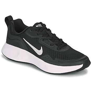 kengät Lapset Urheilukengät Nike WEARALLDAY GS Musta / Valkoinen