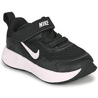 kengät Lapset Urheilukengät Nike WEARALLDAY TD Black / White