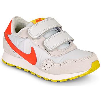 kengät Tytöt Matalavartiset tennarit Nike MD VALIANT PS Beige / Red