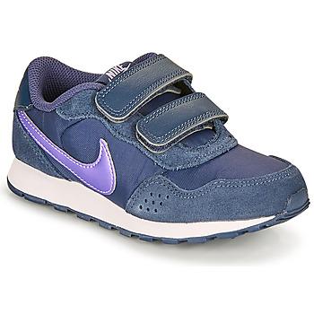 kengät Lapset Matalavartiset tennarit Nike MD VALIANT PS Blue
