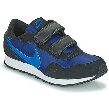 kengät Pojat Matalavartiset tennarit Nike MD VALIANT PS Sininen