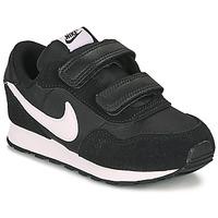 kengät Lapset Matalavartiset tennarit Nike MD VALIANT TD Musta / Valkoinen