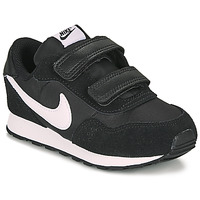 kengät Lapset Matalavartiset tennarit Nike MD VALIANT TD Black / White