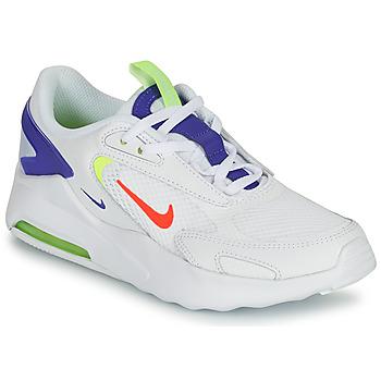 kengät Lapset Matalavartiset tennarit Nike AIR MAX BOLT GS Valkoinen / Sininen