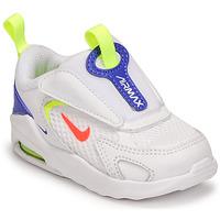 kengät Lapset Matalavartiset tennarit Nike AIR MAX BOLT TD Valkoinen / Sininen