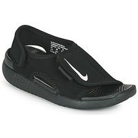 kengät Lapset Rantasandaalit Nike SUNRAY ADJUST 5 V2 PS Musta