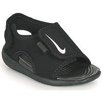 kengät Lapset Rantasandaalit Nike SUNRAY ADJUST 5 V2 TD Black