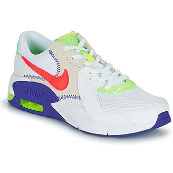 kengät Lapset Matalavartiset tennarit Nike AIR MAX EXCEE AMD GS Valkoinen / Sininen / Punainen