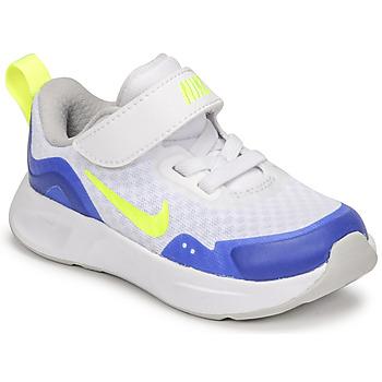 kengät Lapset Urheilukengät Nike NIKE WEARALLDAY Valkoinen / Sininen / Vihreä