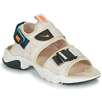 kengät Naiset Rantasandaalit Nike NIKE CANYON Beige