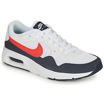 kengät Miehet Matalavartiset tennarit Nike NIKE AIR MAX SC Valkoinen / Punainen / Sininen