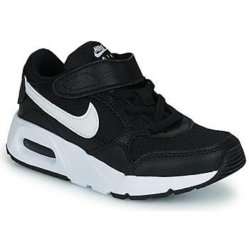 kengät Lapset Matalavartiset tennarit Nike NIKE AIR MAX SC (PSV) Musta / Valkoinen