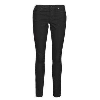 vaatteet Naiset Slim-farkut Vero Moda VMJUDY Musta