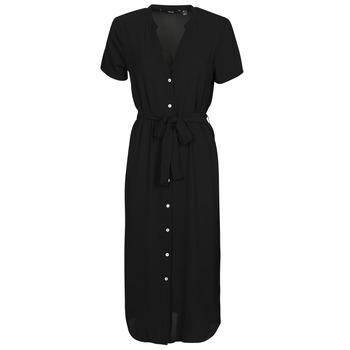 vaatteet Naiset Lyhyt mekko Vero Moda VMSAGA Musta