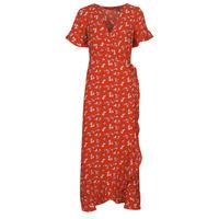 vaatteet Naiset Pitkä mekko Vero Moda VMSAGA Punainen