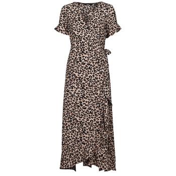 vaatteet Naiset Pitkä mekko Vero Moda VMSAGA Beige