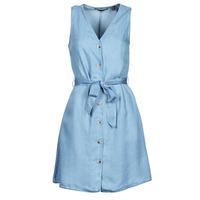 vaatteet Naiset Lyhyt mekko Vero Moda VMVIVIANA Sininen / Clear