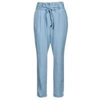vaatteet Naiset Chino-housut / Porkkanahousut Vero Moda VMVIVIANAEVA Sininen / Clear