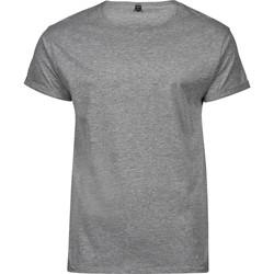 vaatteet Miehet Lyhythihainen t-paita Tee Jays T5062 Heather Grey