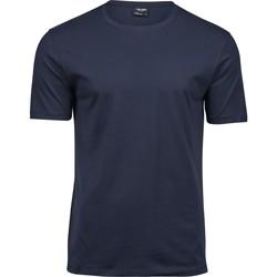 vaatteet Miehet Lyhythihainen t-paita Tee Jays T5000 Navy