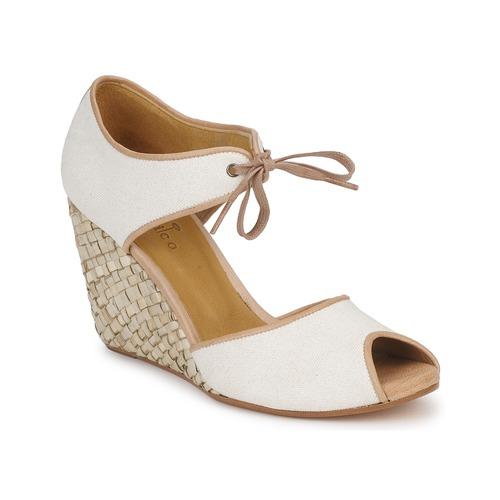 kengät Naiset Sandaalit ja avokkaat Coclico JIEN White