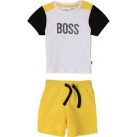 vaatteet Pojat Kokonaisuus BOSS COLITA Monivärinen