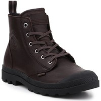 kengät Korkeavartiset tennarit Palladium Manufacture Pampa ZIP LTH 76888-249-M brown
