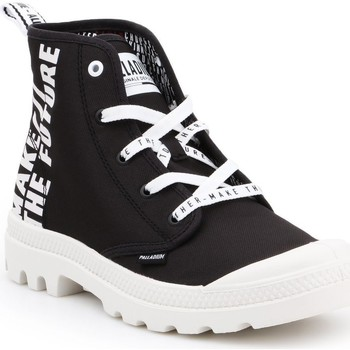 kengät Korkeavartiset tennarit Palladium Manufacture Pampa HI Future 76885-002-M white, black
