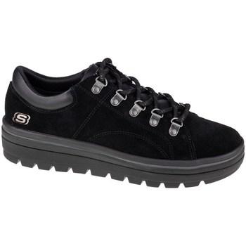 kengät Naiset Matalavartiset tennarit Skechers Street Cleats 2 Fashion Trail Mustat,Grafiitin väriset
