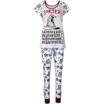vaatteet Naiset pyjamat / yöpaidat Harry Potter  Purple/White