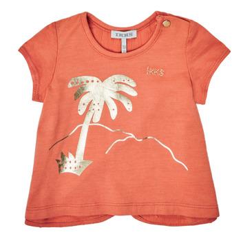 vaatteet Tytöt Lyhythihainen t-paita Ikks XS10080-67 Oranssi
