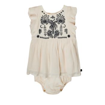 vaatteet Tytöt Lyhyt mekko Ikks XS30060-11 Valkoinen