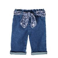 vaatteet Tytöt Suorat farkut Ikks XS29000-86 Sininen