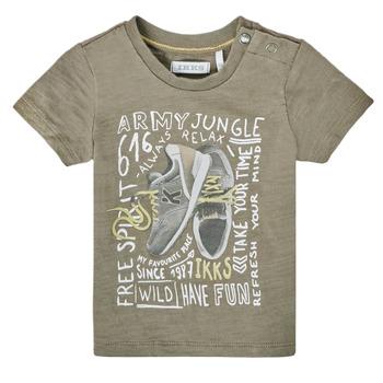 vaatteet Pojat Lyhythihainen t-paita Ikks XS10141-57 Khaki