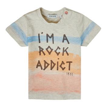 vaatteet Pojat Lyhythihainen t-paita Ikks XS10061-60 Monivärinen