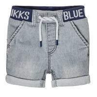 vaatteet Pojat Shortsit / Bermuda-shortsit Ikks XS25011-94 Harmaa