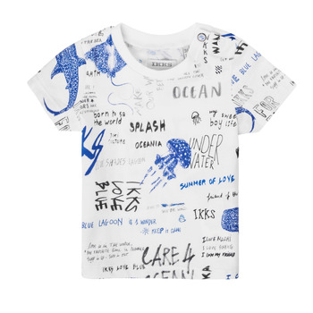 vaatteet Pojat Lyhythihainen t-paita Ikks XS10021-19 Monivärinen